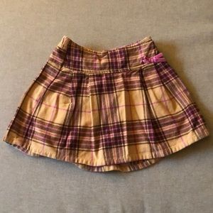 Old Navy Plaid Flannel Cotton Skirt